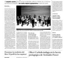 Diario de Avisos: El Coro de Cámara Ainur recibe el título de mejor formación nacional