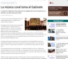 La música coral toma el Gabinete Literario