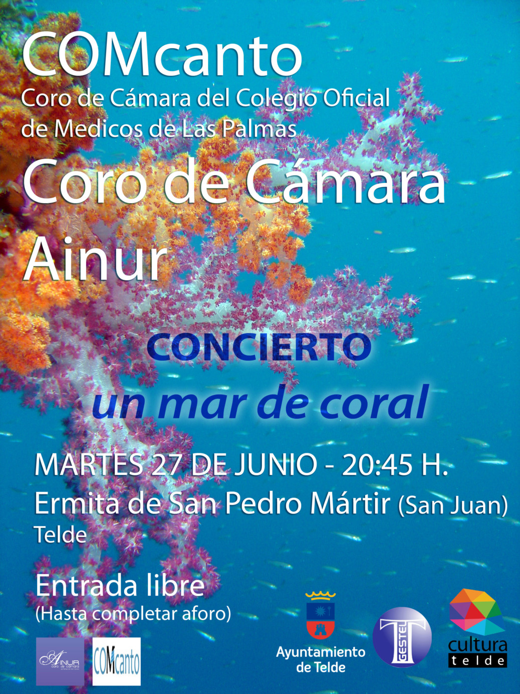 Ainur en un mar de coral