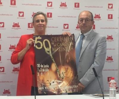 Presentación de la 50 edición del Certamen