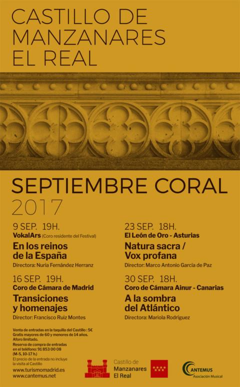 Ainur clausura el Festival Septiembre Coral en Madrid