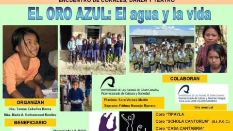 Ainur  participa en un encuentro coral para la ONG EducaNepal