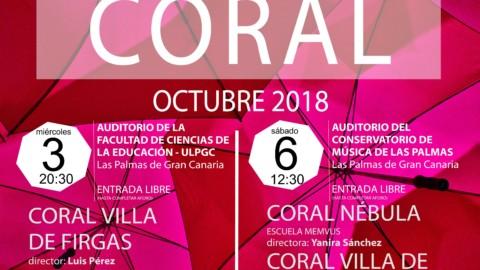 Ainur en los conciertos de Otoño Coral 2018
