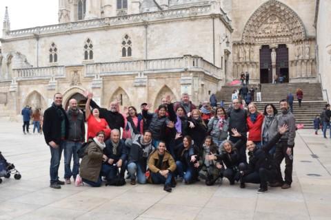 Sensaciones estupendas de grupo en Burgos