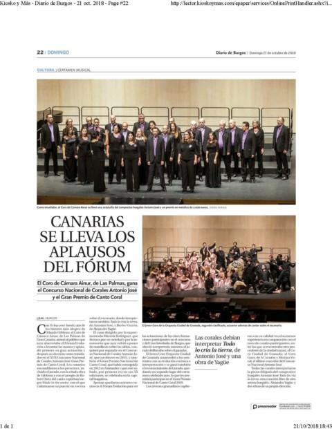 Canarias se lleva los aplausos del Forum