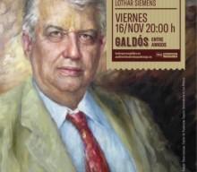 La huella de Lothar Siemens, un homenaje en el Pérez Galdós