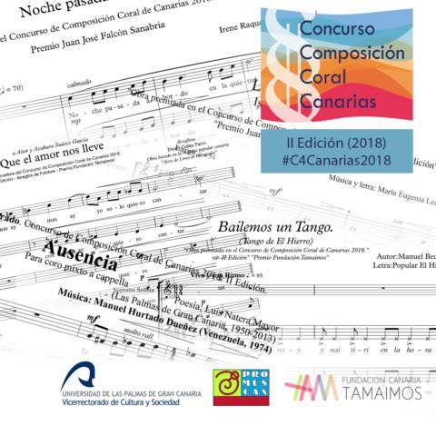 Los resultados del concurso de composición se dan a conocer en la Semana Canaria