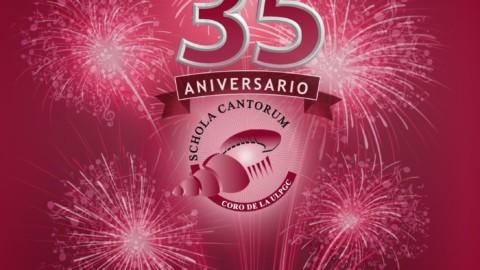 Participamos en el concierto del 35 aniversario de la Schola Cantorum