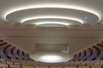 Sala de cámara del Auditorio Internacional de Torrevieja