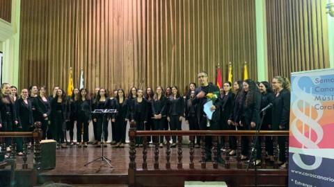 El segundo concierto de Ainur en la Semana Canaria en Arucas