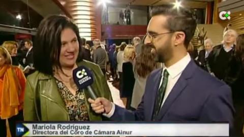 Mariola Rodríguez, directora del Coro de Cámara Ainur, presenta la contribución del coro en el Festival Internacional de Música Canarias