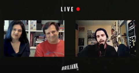 Entrevista para el segundo capítulo en BriliankTV