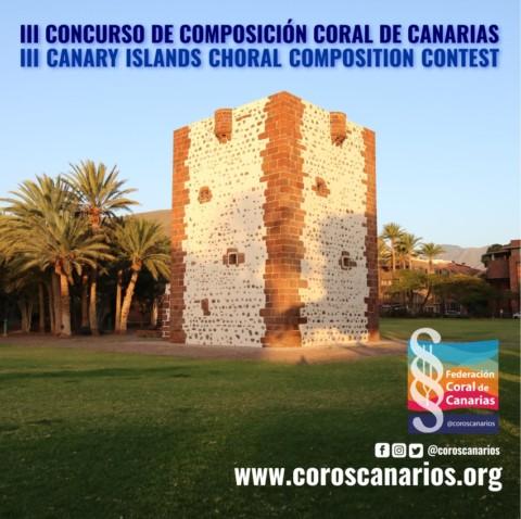 III edición del Concurso de Composición Coral de Canarias (#C4Canarias)